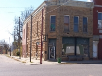 One of the many historic buildings in Cedar Vale, Kansas.